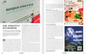 European School of Desig steht Frankfurt gut zu Gesicht - uniFrizz