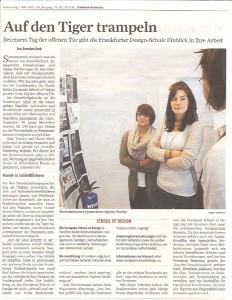 Frankfurter Rundschau - erfolgreichste Designschule in Hessen