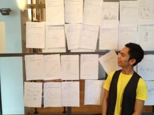 Scribbles - das Medium zur Ideenpraesentation