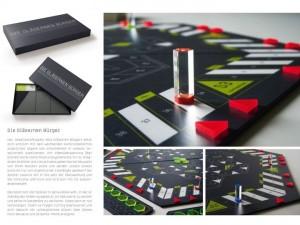Designstudent entwickelt Brett-Spiel