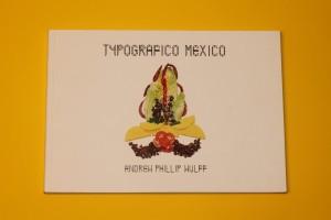 Das Cover von Typografico Mexico