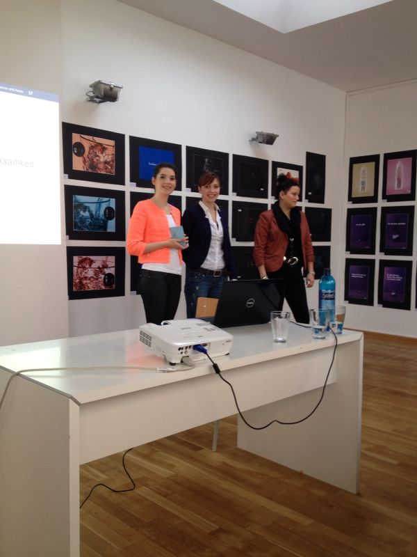 Laura ellen anna und ich european school of design for Design studium frankfurt