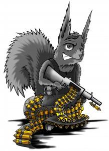 Das Killereichhörnchen