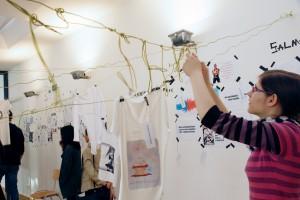 Ausstellungsvorbereitung