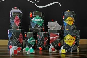 Vier-Städte-Tee Packaging Design