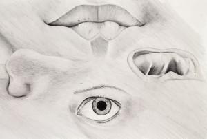 Zeichnung von Designstudentin