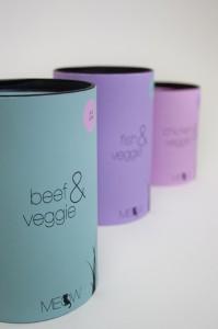 meow beef&veggie close up