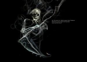 Anti Raucher Kampange im Studium Kommunikationsdesign 2