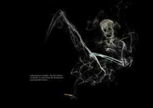 Anti Raucher Kampange im Studium Kommunikationsdesign 3