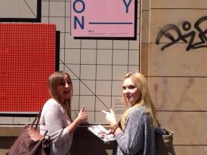 Design Studenten erkunden das Bahnhofsviertel