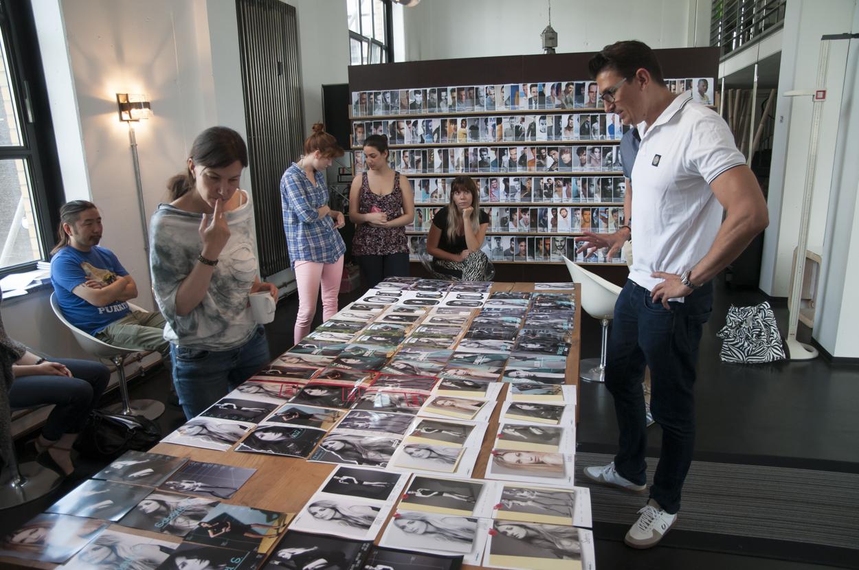 Frankfurter designstudierende bei east west models for Design schule