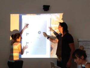Unterricht im Design Studium