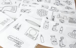 Buch-Illus im Studiengang Kommunikations-Design