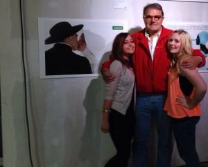 Designstudentinnen treffen Oliviero Toscani