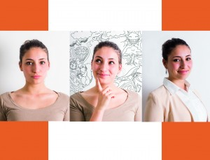 Selbstporträt im Kurs Fotografie