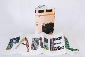 Designstudentin erstellt Broschüre