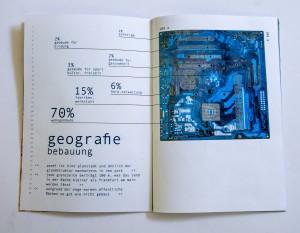 Infografik über Geografie