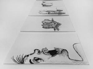 Designstudentin illustriert Schimpfwörter