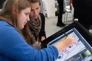 Designstudenten bei Viscom-11