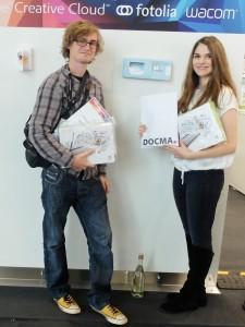 Die Gewinner Katharina Günther und Bastian Betz