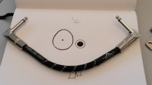 smileyface made of cable