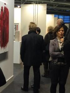 Designchef undercover auf Kunstmesse