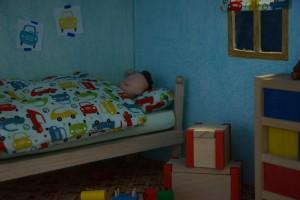 Osacr schläft