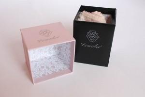 kleine rosa Box