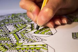 muster drawing by Vita