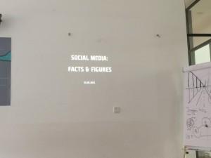 Designstudenten hören Social Media Fachvortrag