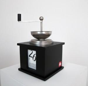 Der Kaffeemühlen-Kalender für illy