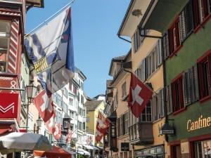 Designstudent in der Schweiz