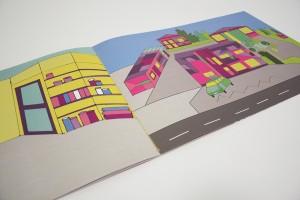 Illustrationen einer Designstudentin