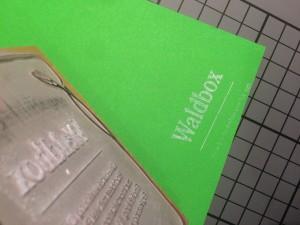 Waldbox, ein Projekt mit viel Handarbeit