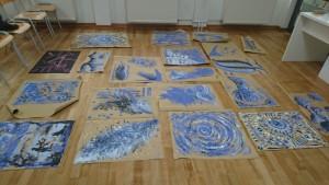 Fingermalerei