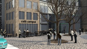 Paradieshof_Entwurf_Café_European School of Design