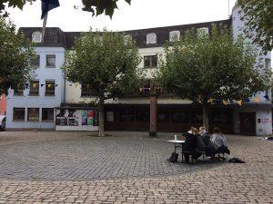 Das zukünftige Schulgebäude der ESOD 'Paradieshof'