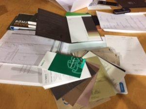 Papiervorschläge von Druckreif