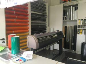 Der übliche Besuch beim Drucker im Designstudium1