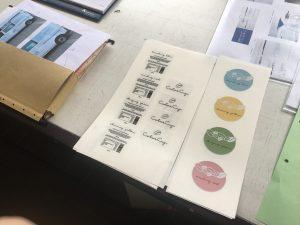 Der übliche Besuch beim Drucker im Designstudium2