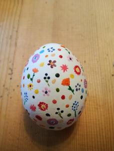 Das kreative Ostern einer Designstudentin