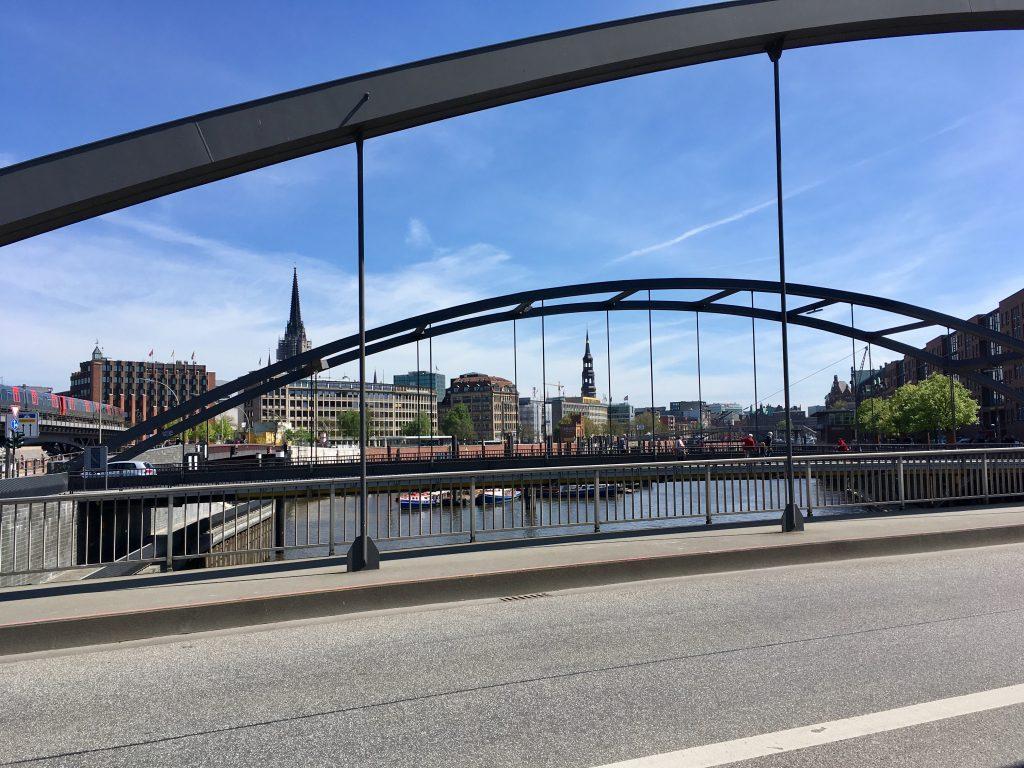 Wundervolles Wetter in Hamburg