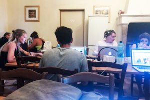 Designstudenten und die Studienfahrt