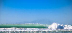 Student beim surfing