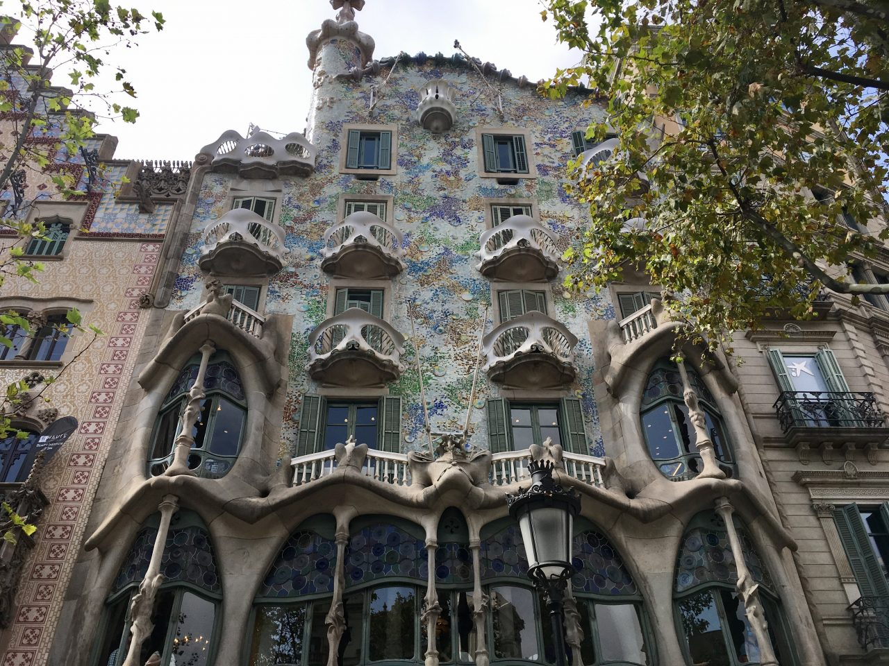 Antoni Gaudís Casa Batlló in Barcelona