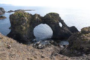 Desigstudentin aus Frankfurt besichtigt Island