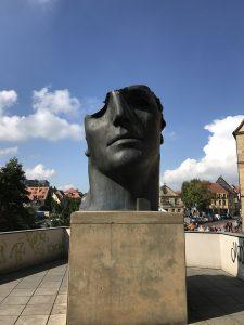 Designstudentin erkundet Bamberg