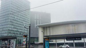 Designstudentin aus Frankfurt besichtigt Luxemburg