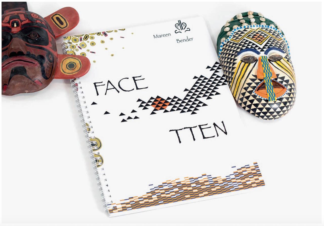 Maskendesign:Buch_Facetten1_Designstudentin_Mareen_Bender