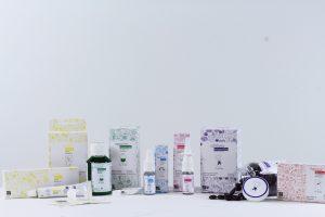 Produktpalette der Marke HeyKids